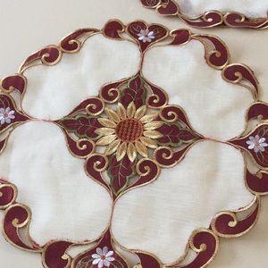 Decorative napkins for Thanksgiving